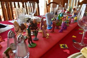 Disney Christmas Table