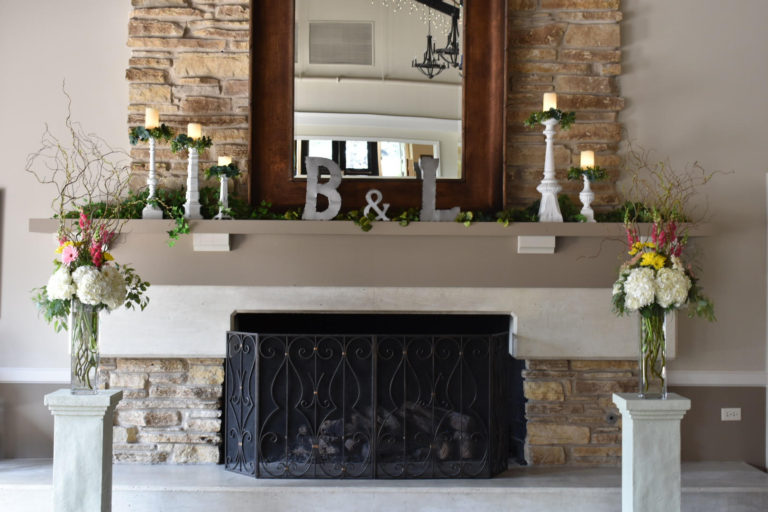 Custom Mantel Design